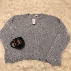 PACsun light blue oversized chunky sweater